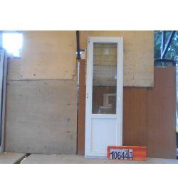 Двери Деревянные Б/У 2400(в) х 730(ш) Балконные