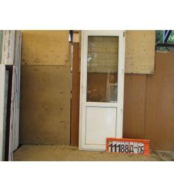 Пластиковые Двери БУ 2250(в) х 760(ш) Балконные Неликвид