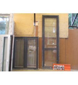 Пластиковые Двери Б/У 2440(в) х 770(ш) Балконные