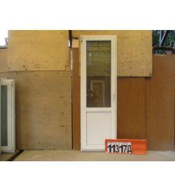 Пластиковые Двери БУ 2180(в) х 680(ш) Балконные