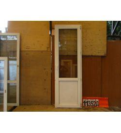 ПВХ Двери БУ 2270(в) х 730(ш) Балконные