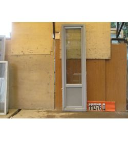 Пластиковые Двери БУ 2350(в) х 650(ш) Балконные