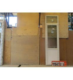 Пластиковые Двери БУ 2640(в) х 710(ш) Балконные