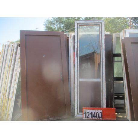 Двери Пластиковые БУ 2340(в) х 730(ш) Балконные