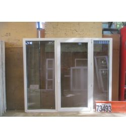 Пластиковые Окна БУ 1740(в) х 2090(ш)